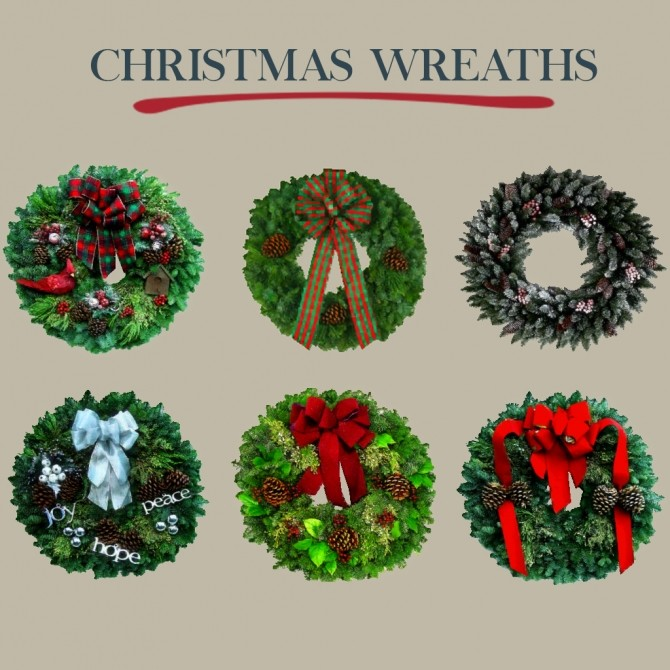 Christmas Wreaths at Leo Sims image 1236 670x670 Sims 4 Updates