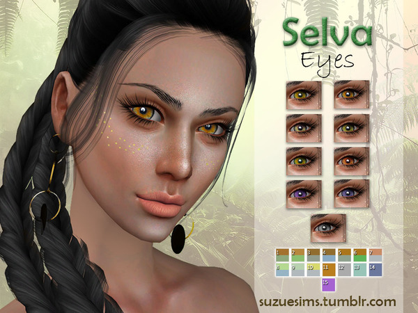 Sims 4 Selva Eyes N4 by Suzue at TSR