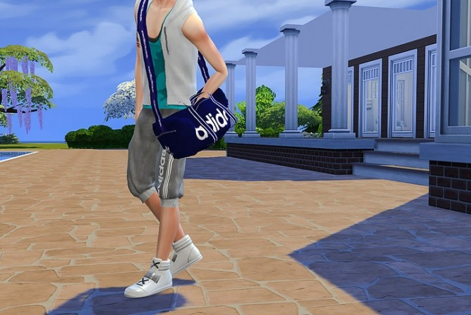 Giruto 41 Jogger Sport Shorts Pant at Studio K Creation image 1295 670x449 Sims 4 Updates