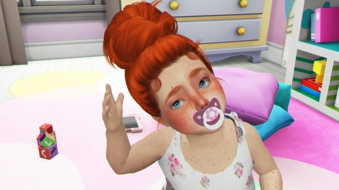 HALLOWSIMS SKYSIMS128 HAIR TODDLER by REDHEADSIMS image 1302 670x377 Sims 4 Updates