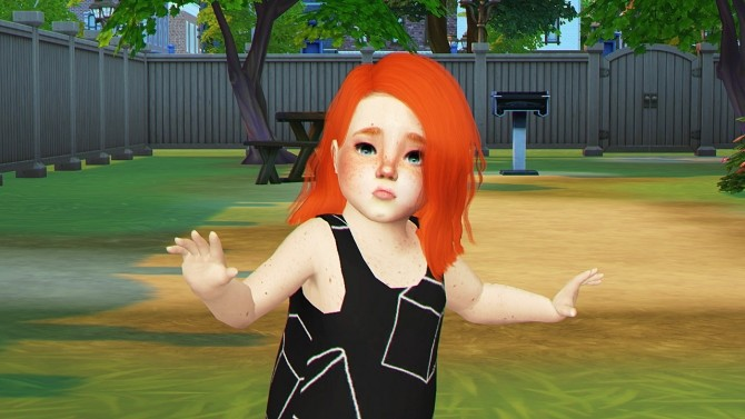 Sims 4 SIMPLICIATY TODDLER Hair COLLECTION PART1 at REDHEADSIMS