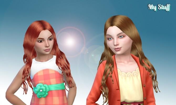 Miriam Hair for Girls at My Stuff image 13112 670x401 Sims 4 Updates