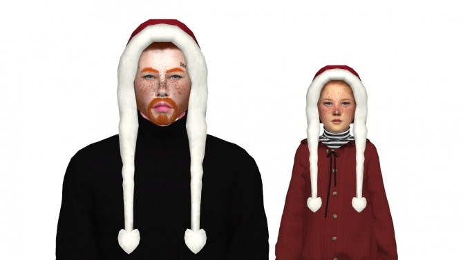Sims 4 HOLIDAY HAT PACK 2 by Thiago Mitchell at REDHEADSIMS