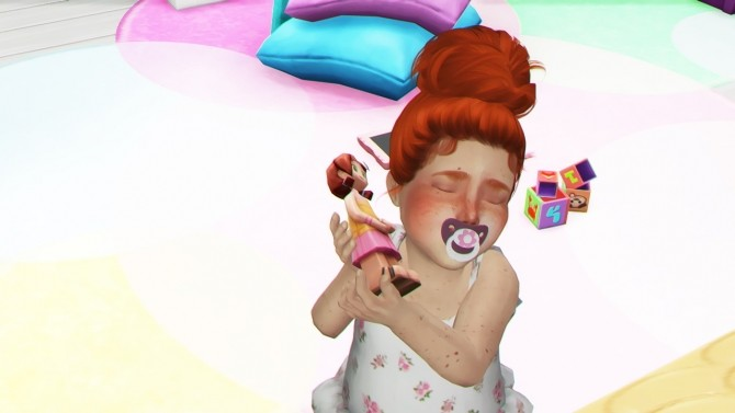 HALLOWSIMS SKYSIMS128 HAIR TODDLER by REDHEADSIMS image 1315 670x377 Sims 4 Updates