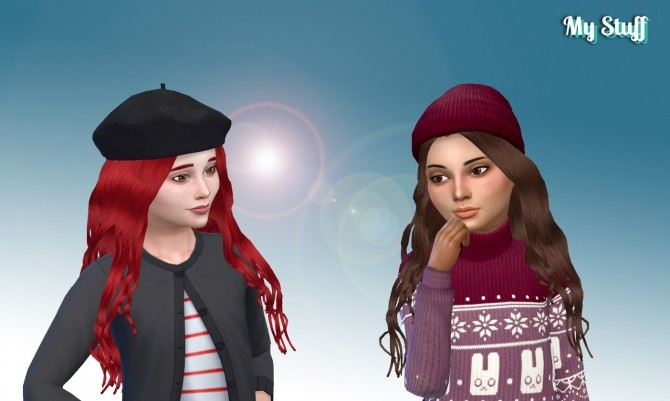 Miriam Hair for Girls at My Stuff image 1326 670x401 Sims 4 Updates