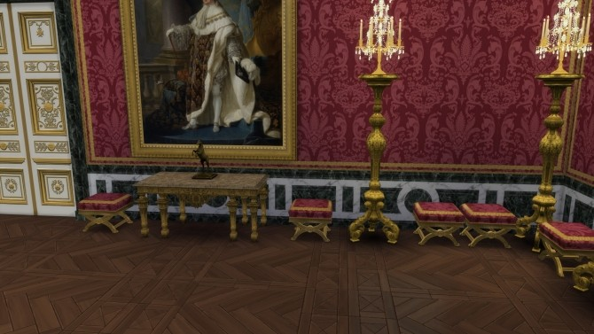 Xixth Century Stool From Versailles By Thejim07 At Mod The