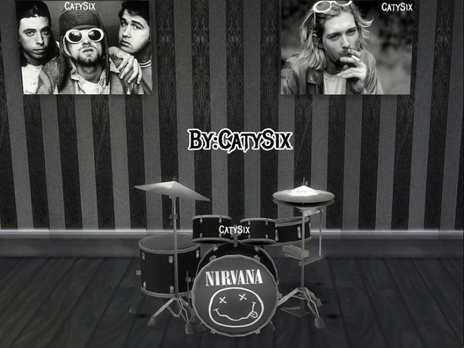 Playable Drums V1 at CatySix image 1333 670x503 Sims 4 Updates