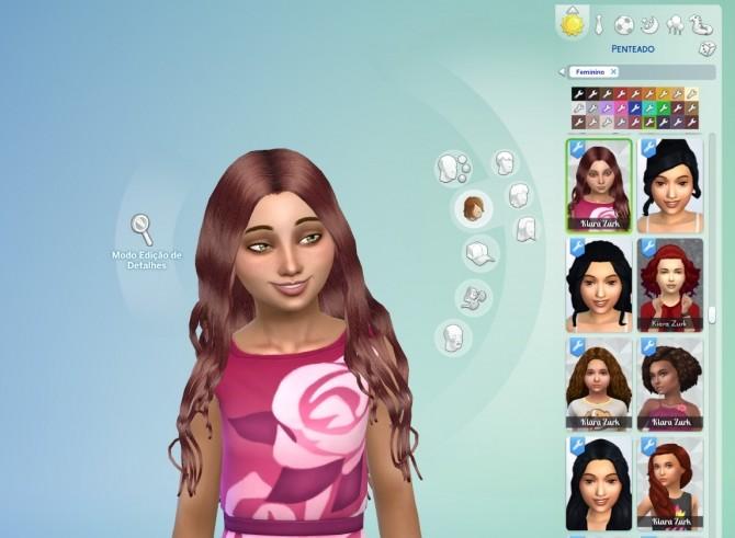 Sims 4 Miriam Hair for Girls at My Stuff