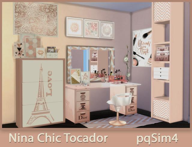Nina Chic Dresser at pqSims4 image 1356 Sims 4 Updates