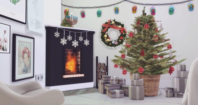Sims 4 CHRISTMAS GIFT at Pyszny Design