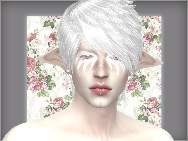 Andromeda face tattoos by WistfulCastle at TSR image 1389 Sims 4 Updates