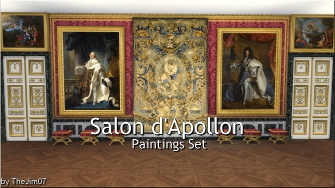 Salon dApollon Paintings Set by TheJim07 at Mod The Sims image 1391 670x377 Sims 4 Updates
