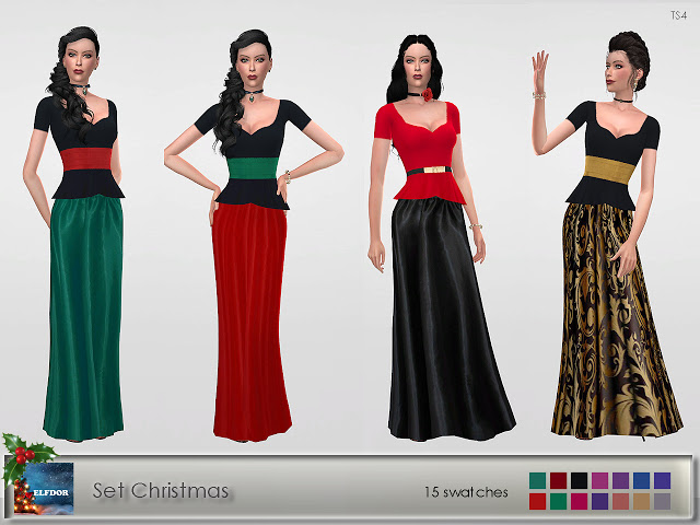 Set Christmas at Elfdor Sims image 1446 Sims 4 Updates
