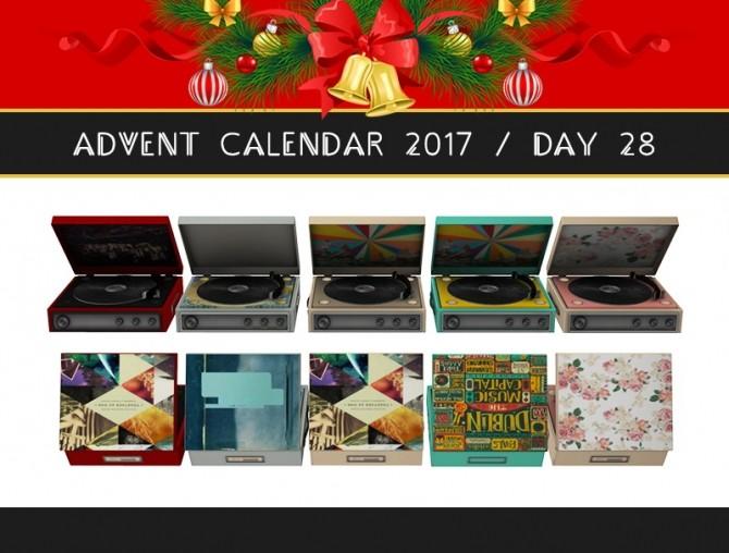 Vintage Vinyl Player at Dream Team Sims image 1468 670x508 Sims 4 Updates