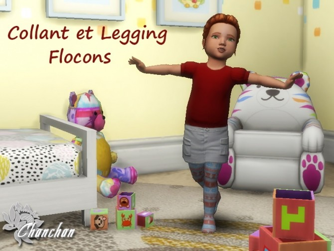 Flocon leggings for toddlers by Chanchan24 at Sims Artists image 1503 670x503 Sims 4 Updates