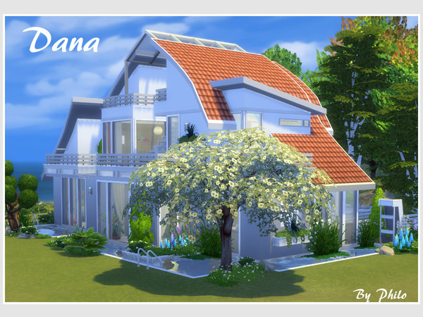 Dana house by philo at TSR image 1507 Sims 4 Updates