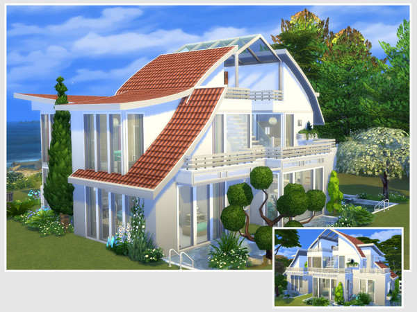 Sims 4 Dana house by philo at TSR
