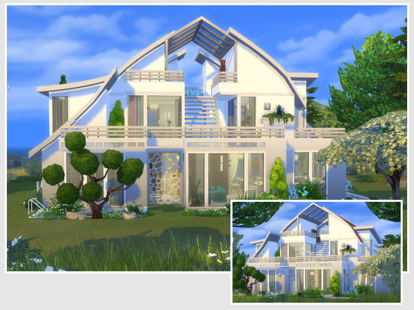 Dana house by philo at TSR image 15211 Sims 4 Updates