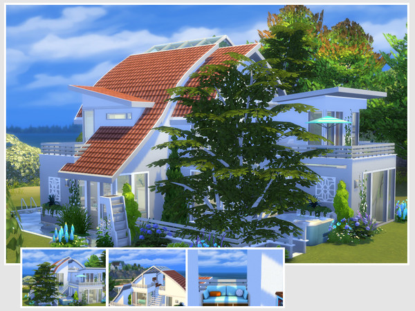 Dana house by philo at TSR image 15310 Sims 4 Updates