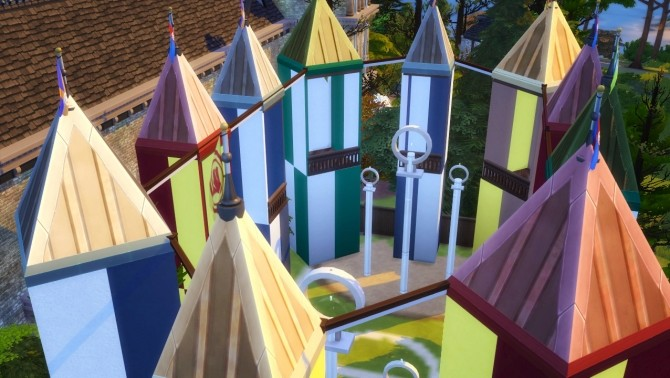 Sims 4 HOGWARTS SCHOOL OF WITCHCRAFT AND WIZARDRY at Akai Sims – kaibellvert