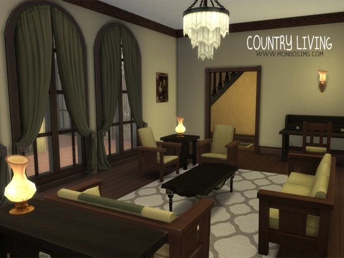 Sims 4 Country Living by Simone at Mondo Sims