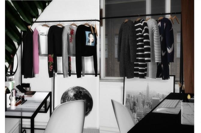 Sims 4 VELVET HANGING CLOTHS RECOLORS at Novvvas