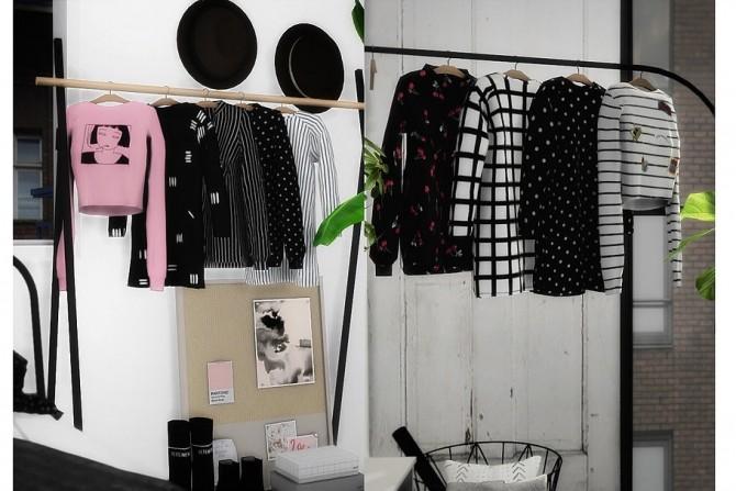 VELVET HANGING CLOTHS RECOLORS at Novvvas image 1562 670x447 Sims 4 Updates