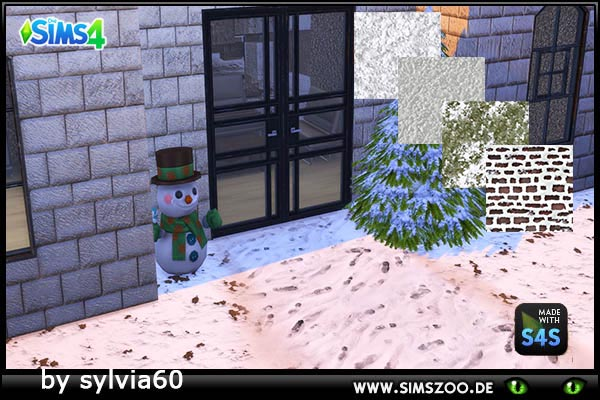 Snowground by sylvia60 at Blacky's Sims Zoo image 1606 Sims 4 Updates