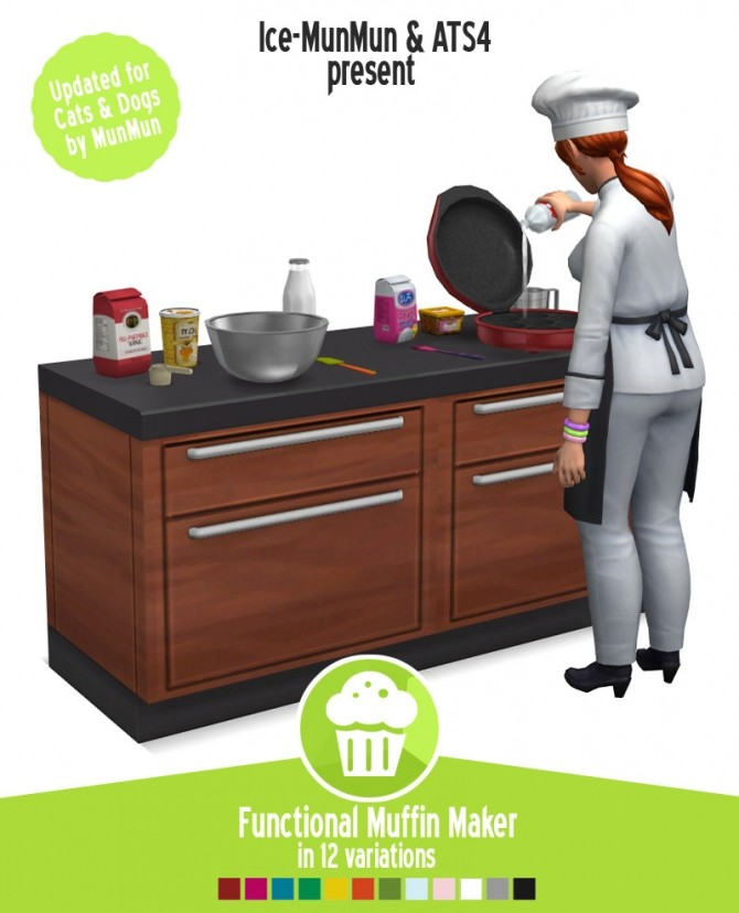 Muffin maker at Around the Sims 4 image 1641 670x828 Sims 4 Updates