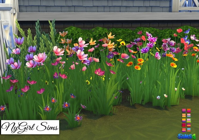Wildflower Assortment at NyGirl Sims image 1671 670x473 Sims 4 Updates