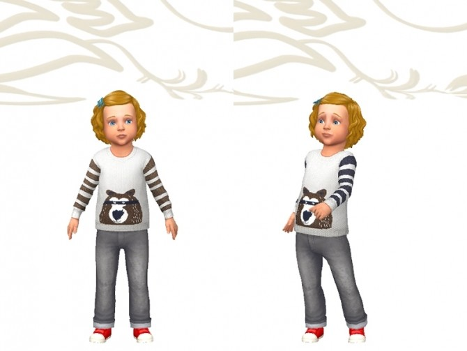 Mapy sweater by Fuyaya at Sims Artists image 1674 670x503 Sims 4 Updates
