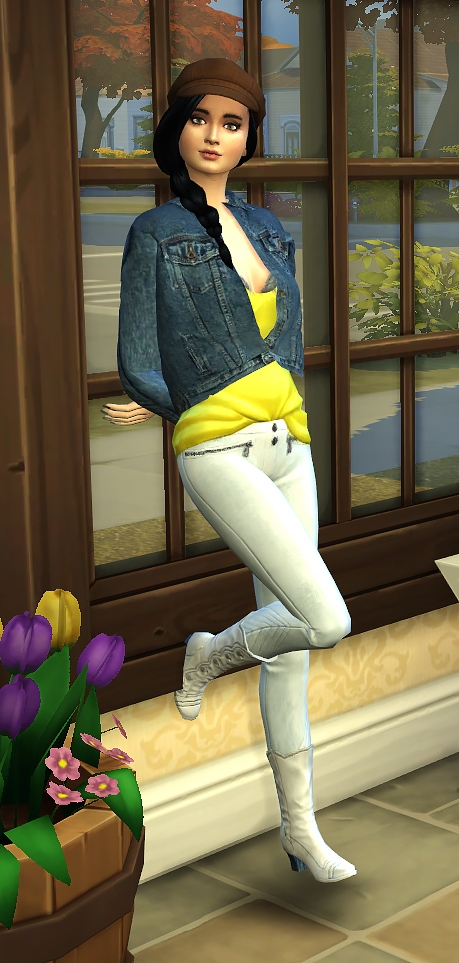 Against the wall poses by Delise at Sims Artists image 1704 Sims 4 Updates