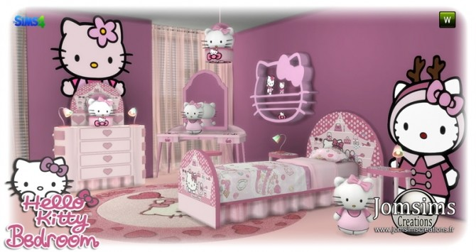 HK KIDS BEDROOM at Jomsims Creations image 1711 670x355 Sims 4 Updates