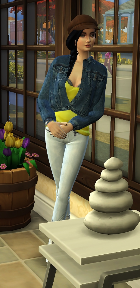 Sims 4 Against the wall poses by Delise at Sims Artists
