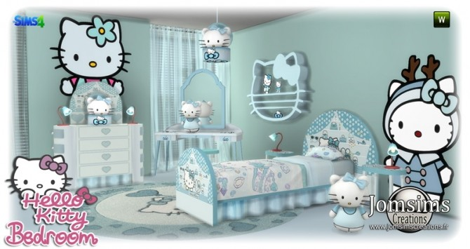 Sims 4 HK KIDS BEDROOM at Jomsims Creations