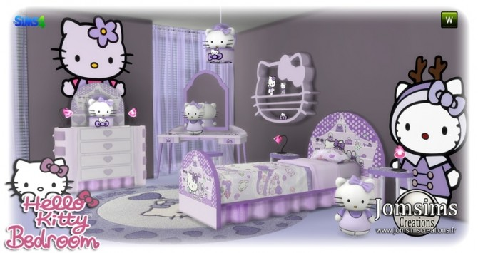 HK KIDS BEDROOM at Jomsims Creations image 173 670x355 Sims 4 Updates