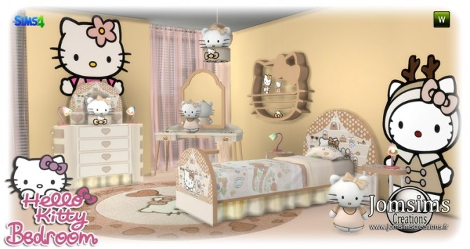 HK KIDS BEDROOM at Jomsims Creations image 174 670x355 Sims 4 Updates