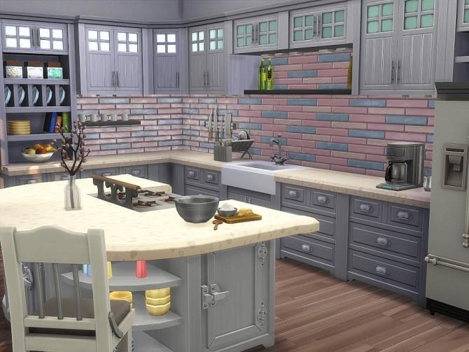 Seashell Mansion by Waterwoman at Akisima image 1752 670x503 Sims 4 Updates