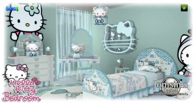 HK KIDS BEDROOM at Jomsims Creations image 176 670x355 Sims 4 Updates