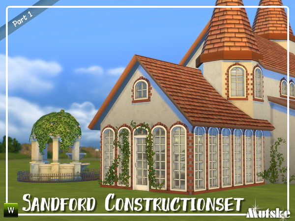 Sims 4 Sandford Construction set part 1 by mutske at TSR
