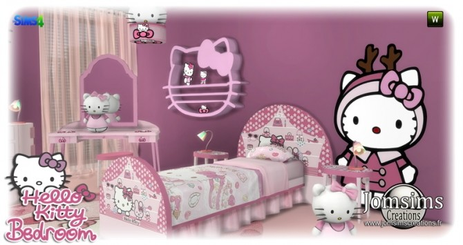 HK KIDS BEDROOM at Jomsims Creations image 177 670x355 Sims 4 Updates