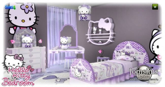 HK KIDS BEDROOM at Jomsims Creations image 178 670x355 Sims 4 Updates