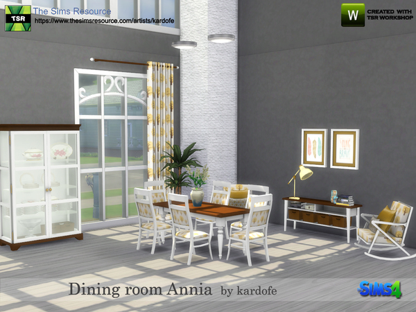 Dining room Annia by kardofe at TSR image 18210 Sims 4 Updates