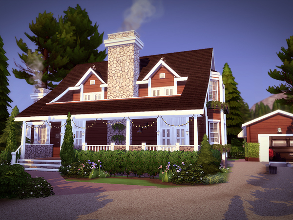 Holidcot house by melcastro91 at TSR image 1830 Sims 4 Updates