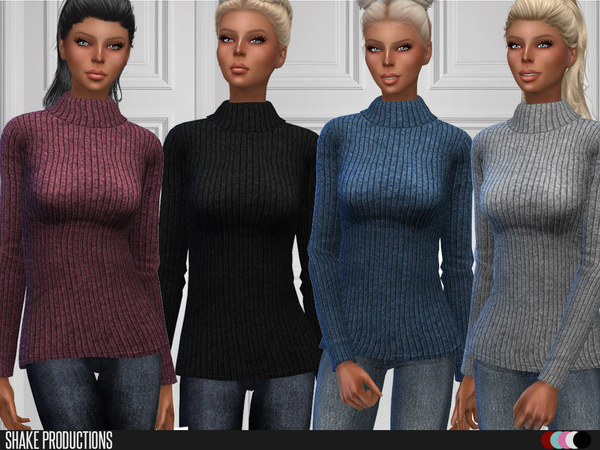 Sims 4 93 Sweater by ShakeProductions at TSR