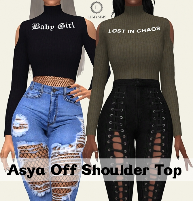 Asya Off Should Top At Lumy Sims 187 Sims 4 Updates