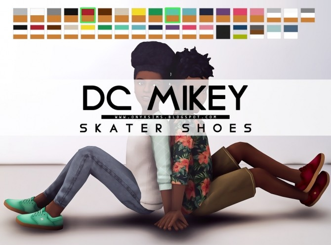 Skate Shoes at Onyx Sims image 1872 670x497 Sims 4 Updates