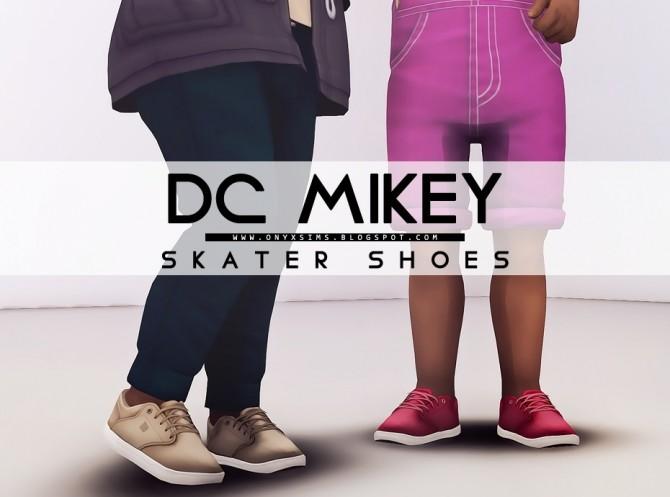 Sims 4 Skate Shoes at Onyx Sims