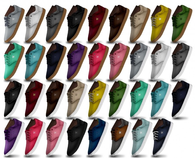 Skate Shoes at Onyx Sims image 1892 670x546 Sims 4 Updates