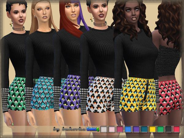Sims 4 MARNI Shorts by bukovka at TSR